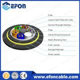 Cabos de fibra óptica aérea não-metálicos 12 Core 150m Span