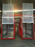 Élévateur de construction de cages de la qualité Sc200/200 de l'Israël doubles/gerbeur de construction/ascenseur de construction