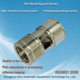 Précision en acier inoxydable d'usinage CNC tournant de la partie de la machine OEM