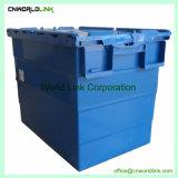 이삿짐 회사를 위한 붙어 있던 뚜껑 플레스틱 포장 수송 단단한 운반물