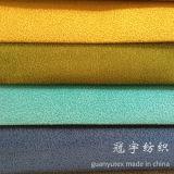 Tissu composé de velours côtelé de nylon et de polyester pour des usages intérieurs