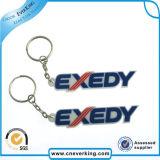Regalos de promoción Car Emblem PVC Keychain titular