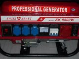 Fabrication Gasoline Powered 2016 6.5kw 7.5kVA Papier d'emballage suisse Generator
