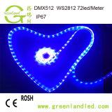 Оптовые цены на заводе Полноцветный RGB 12В постоянного токаадресуемой белой светодиодной полосы с маркировкой CE RoHS утверждения
