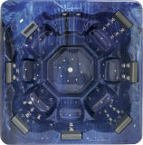 正方形6-7人の屋外のアクリルの鉱泉のたらい(M-3340)