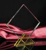 Самое лучшее продавая пустое пожалование кристаллический стекла для подарка дела