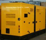 200kVA 160kw 대기 비율 영국 엔진 침묵하는 유형 디젤 발전기