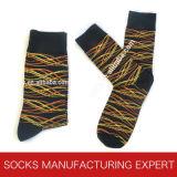 Modelo especial de los hombres del calcetín del algodón de la manera