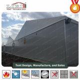 [20م] [ستيل فرم] [تمبورري بويلدينغ] خيمة صناعيّة لأنّ منجم لغم في أمريكا جنوبيّة