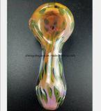De Waterpijp van het Glas van 2.95 Duim van Pijp van het Glas van de Filter van het Poeder de Roze