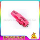 Colar de cão de borracha macio personalizado, colares de cães impermeáveis do silicone do PVC