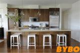 カスタマイズされた現代自由なデザインによって薄板にされる食器棚(BY-L-131)
