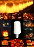 最も新しい党装飾LEDランプの暖かい白1300-2000Kの火のシミュレーションLEDの球根5W