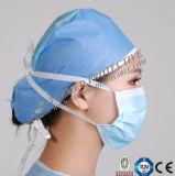 Maschera di protezione a perdere della 1/2/3 di piega, mascherina medica, maschera di protezione chirurgica non tessuta
