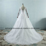 Хорошее качество Appliqued принцесса тюль кружево свадебные платья
