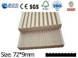 Decking contínuo composto plástico de madeira de 100*20mm com CE, GV de Fsg, certificado