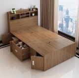 安い現代木のシングル・ベッド