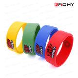 Benutzerdefinierte Hf Contactless RFID Silikon-Armband Armband-Uhrenarmband-Tag