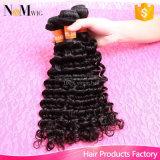 中国製表面美の毛のブランド、100%のブラジルの人間の毛髪のよこ糸の束