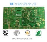 Báscula de circuito impreso con el verde máscara de soldadura