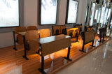 Oficina de escrita dobrável Treinamento de cadeira de ensino Mobiliário de escritório