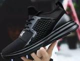 La ejecución de los deportes masculinos zapatos para correr con Flyknit calzado zapatillas superior (884)