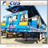 1/2/3/4 contenitore degli assi 20FT 40FT di Fuwa/programma di utilità/base del carico/della piattaforma camion di rimorchio semi