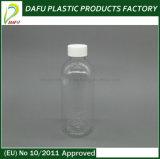 液体のための100mlペットゆとりのプラスチックびん