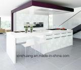 [زه] بيضاء حديثة كاملة عال لمعان مطبخ يثبت (لون بيضاء)