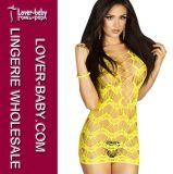 El más nuevo de la ropa interior de la ropa interior de la mujer del camisón (L27989-5)
