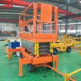 4-18m 500kg Shandong 최신 판매 이동할 수 있는 전기 유압 끄는 수직은 세륨 TUV 증명서를 가진 상승 플래트홈을 가위로 자른다