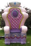 Modell der Könige Stuhl der Prinzessin-Inflatable PVC für Parteiereignis