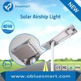 luz solar do sensor do diodo emissor de luz do jardim 40W com painel solar