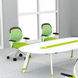 Boa tabela do computador da equipe de funcionários da mesa da estação de trabalho da mobília de escritório