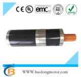 NEMA62 24VDC 3.0Nm Round Geared Brushless Motor With Encoder