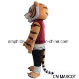 La tigre dal costume della mascotte di Movice del panda di Kungfu da vendere