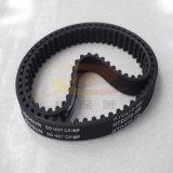 Correa dentada de goma con la cuerda de la fibra de vidrio