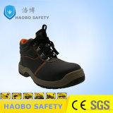 熱い販売の安い価格PUの唯一の鋼鉄つま先の本革防水産業耐久作業人のための働く安全靴