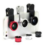 2 en 1 nueva lente de cámara del ojo de pescados de los accesorios del teléfono celular