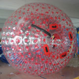 Doble coloridos inflables emocionante caminar Zorb Ball Bang Bead