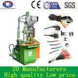Vertikale Miniplastikspritzen-Maschine für Netzanschlusskabel