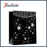 С горячей штамповки звезд черный крафт-бумаги магазины подарков сумки