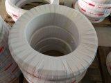 4 boyau hydraulique en caoutchouc du boyau flexible R12 de fil d'acier de couche