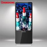 49 pulgadas de ls1000cms Totem Upstand Banner Display LCD con sistema de gestión de contenidos