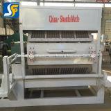 Moldes de 40 de la fábrica de pasta de papel giratorio de secado de la bandeja de huevos de moldeo que hace la máquina