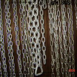 Acero inoxidable estándar coreano Enlace corto largo cadena soldada