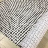 建築構造の白いGeoclothのガラス繊維の複合体Geogrid