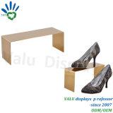 Écologique polonais a augmenté de Golden Shoe étagères d'affichage (VMS504)