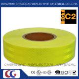 Nastro riflettente di alto di visibilità colore giallo fluorescente della calce per il bus (CG5700-OF)