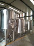 1000L het Jasje van de stoom brouwt Ketel, het Vat van de Maïsmeelpap van het Bier